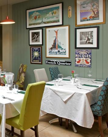 The French Cafe: Stylish dining