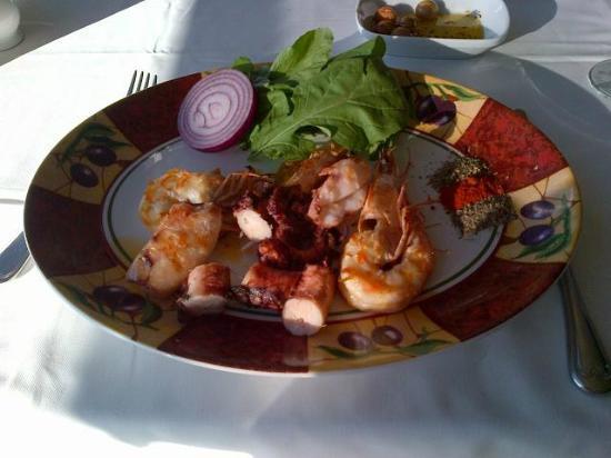 Ristorante il Padrino: Mix Seafood grill
