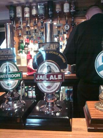 Plume of Feathers Inn: Jail Ale