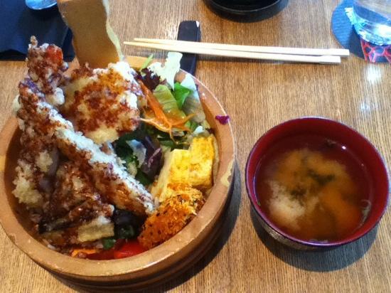 Nizuni Japanese Restaurant: Tendon