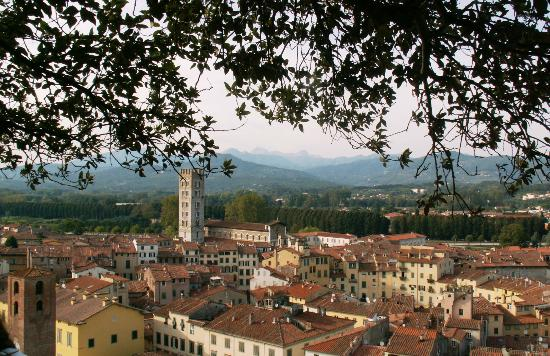 Locanda Sant'Agostino: View from Guinigi Tower