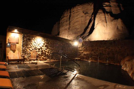 Ojo Caliente Mineral Springs Resort and Spa: Iron pool