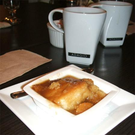 Cafe l'Infusion: Pudding Chaumeur, a desert included with the daily special lunch