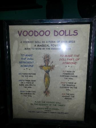 New Orleans Historic Voodoo Museum: Info on voodoo dolls