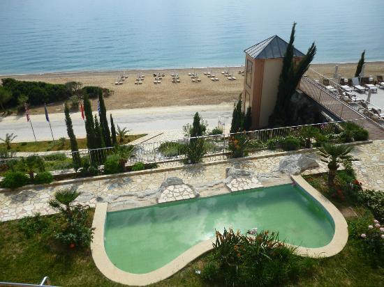 Regina Dell Acqua Resort: View from reception