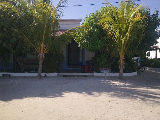 Posada Acuario: entrata, con patio