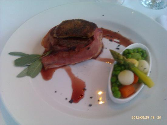 Te Quiero : Steak with goose liver