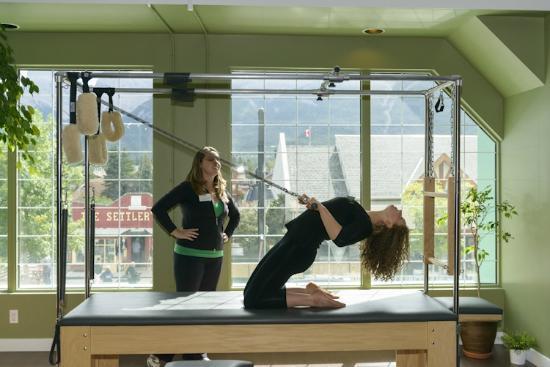 Embody Pilates Studio: Bonny-Lynn teaching on the Cadillac