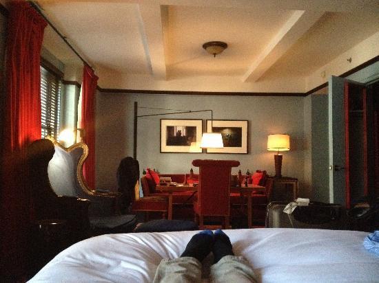 Gramercy Park Hotel: Deluxe loft