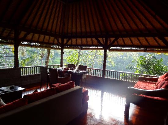Bidadari Private Villas & Retreat - Ubud: balcony