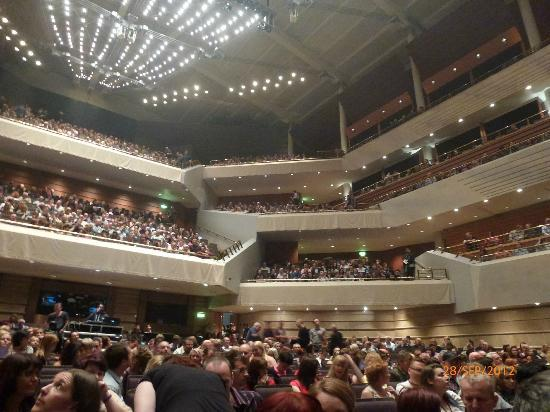 The Bridgewater Hall: view from our 2nd row