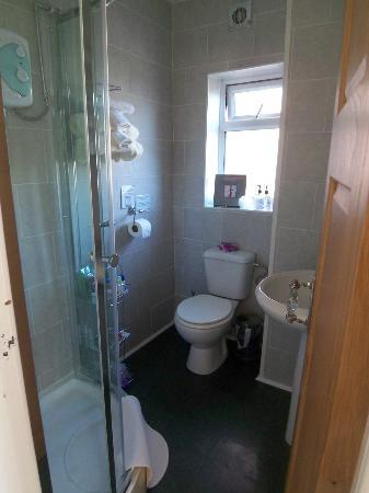 Barton House : Newly fitted out shower room