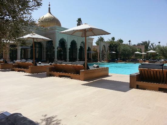 Palais Namaskar : Main Pool
