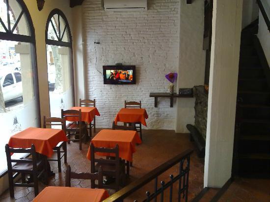 Posada Casa Los Pinos : Lo mejor, muy lindo y comodo para desayunar.