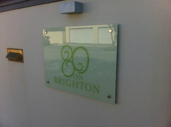 80 on Brighton Bed and Breakfast: Our fab B&B!
