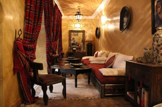Riad Ajebel: Zona de relax