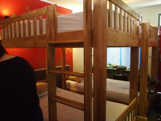 Kayun Hostel : 2 bunk beds