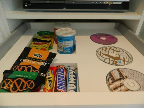 Boutique Manolo: Cool mini bar treats!