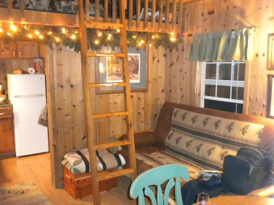 Rim Rock's Dogwood Cabins: Cougars Den