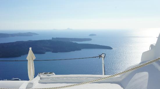 Irida Santorini: caldera