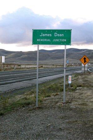 James Dean Memorial Junction-Photo by Frank Alli