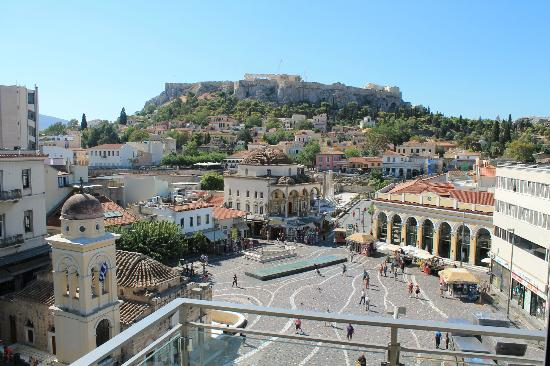 A for Athens: You really can't beat this view.