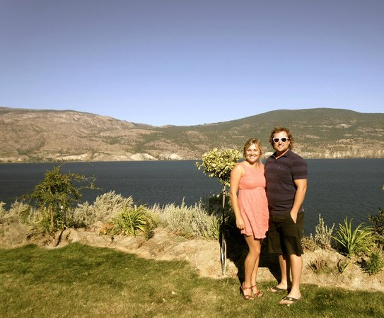Bonita's Bistro: view of the okanagan