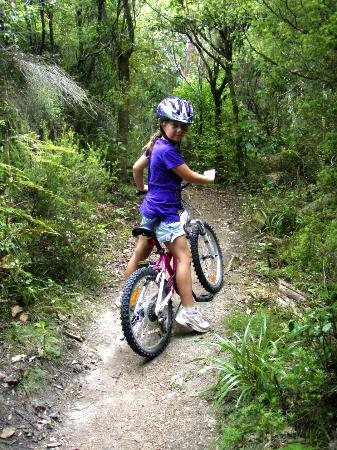 Asure Parklands Motor Lodge: Family Friendly Mountain Biking