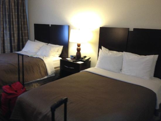 Best Western River North Hotel: Double beds