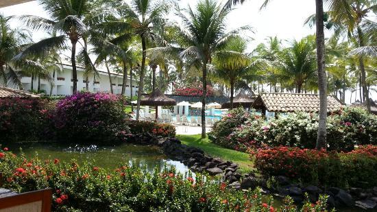 Hotel Transamerica Ilha de Comandatuba: Vista do café da manhã