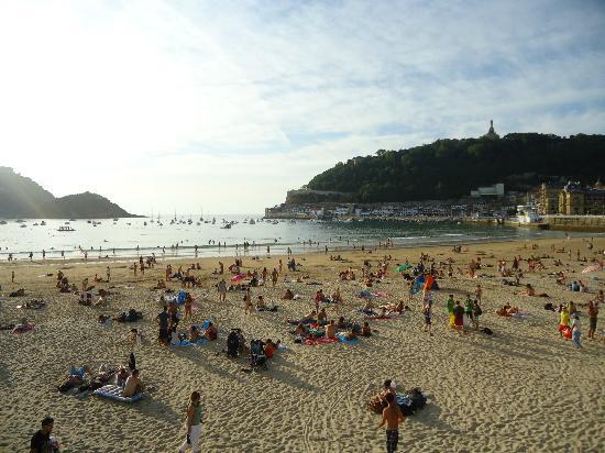 Pension Garate: La Concha beach