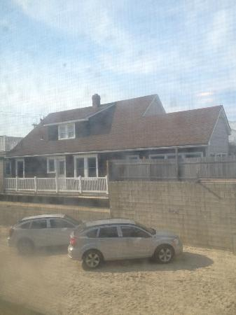 Sand & Surf Motel: Jersey Shore from 5B window!