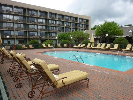 High Peaks Resort: The Pool Area...Very clean, very relaxing