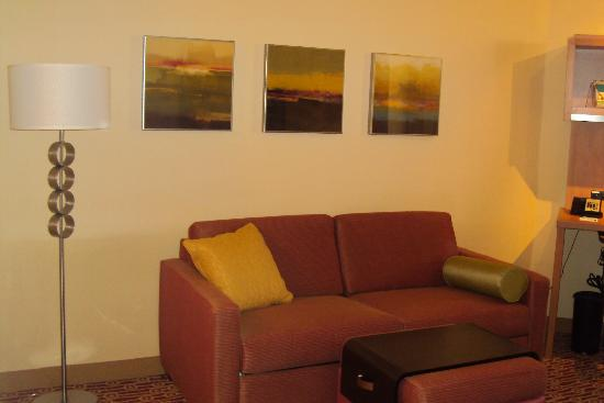 TownePlace Suites Mississauga-Airport Corporate Centre: Living Room