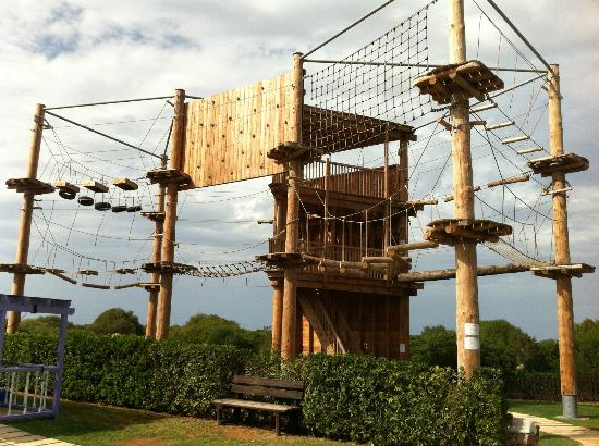 Holiday Village Menorca: Action Tower for the older kids