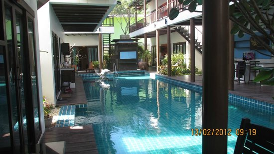 Pool at the Lamuna taken from the room