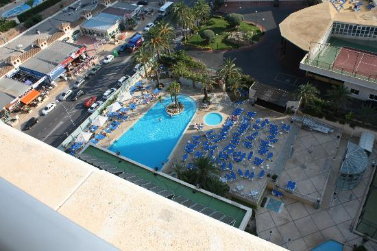 Hotel Levante Club & Spa: View from 10th floor