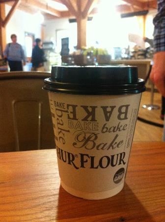 King Arthur Flour Bakery and Café: Delicious Americano