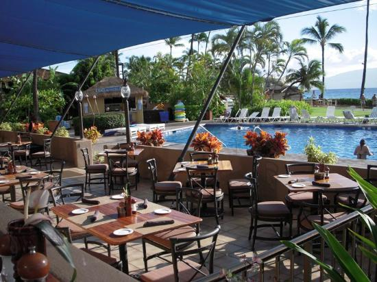 Royal Lahaina Resort: Outstanding food with a gorgeous view anytime of day.