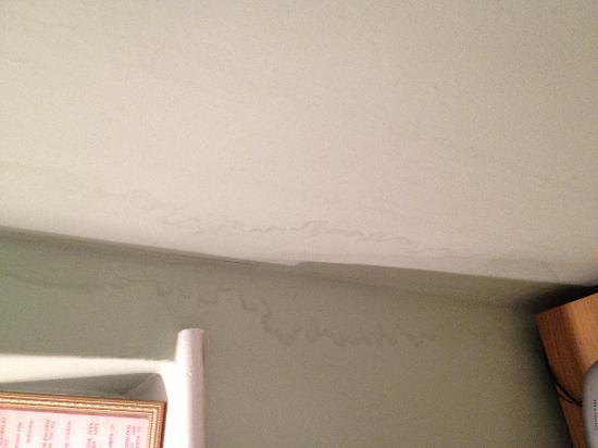 The Glebe Hotel: Damp issue in bedroom
