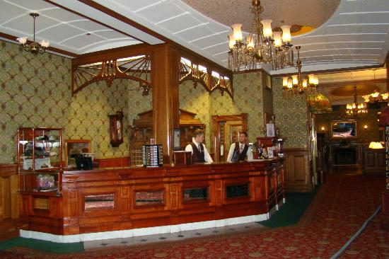 Strater Hotel lobby