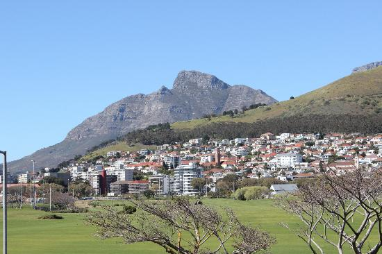 Mouille Point Village: View from our room - non ocean facing
