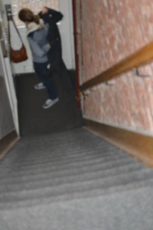 Hotel Weber: Escaleras