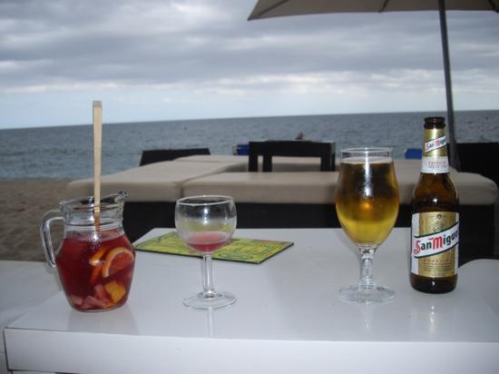 Sorrabona Hotel: moloko beach bar