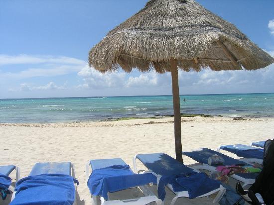 Sandos Caracol Eco Resort: La playa