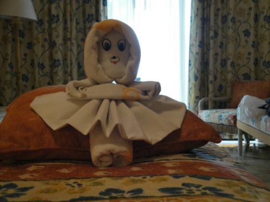 Iberostar Quetzal Playacar: muñeca de toallon
