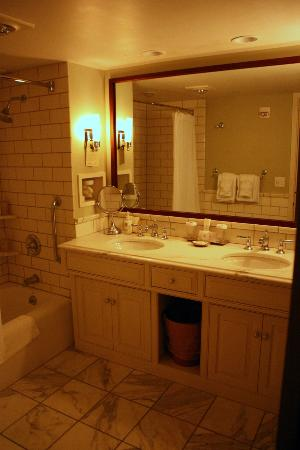 Woodstock Inn and Resort: His/Hers sinks