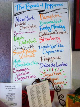 Bruce's Fabulous Foods: The Board of Happiness