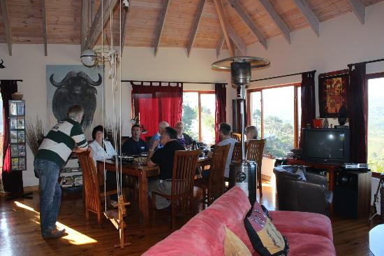 Panorama Lodge: Inside the lodge