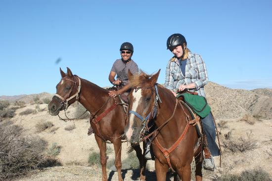 Horseback riding at CottonWood Canyon Ranch